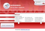 Local Events Website Red Personal Use Template
