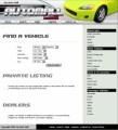 My Auto Mall - Yellow Personal Use Template