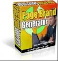Page Brand Generator Resale Rights Software