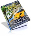 The High Rollers Guide To Joint Ventures MRR Ebook