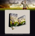 Football - Minisite & Content Resale Rights Template