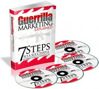 Guerilla Marketing Explained Plr Ebook With Audio