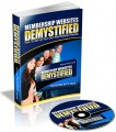 Membership Websites Demystified Plr Ebook With Audio
