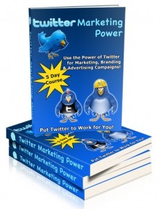 Twitter Marketing Power Plr Autoresponder Messages
