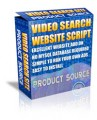 Video Search Website Script MRR Script