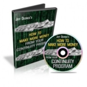 How To Make More Money From Your Continuity Program Mrr Video