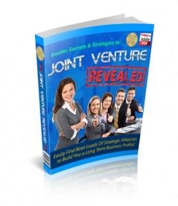 Joint Venture Revealed Plr Ebook