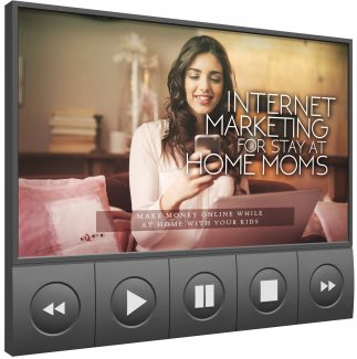 Internet Marketing For Stay At Home Moms – Video Upgrade MRR Video With Audio