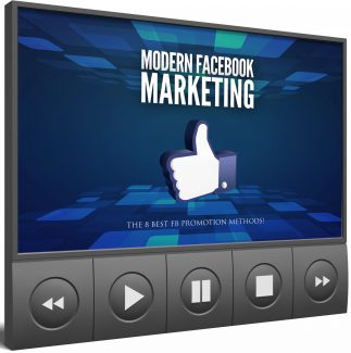 Modern Facebook Marketing Video Upgrade MRR Video With Audio