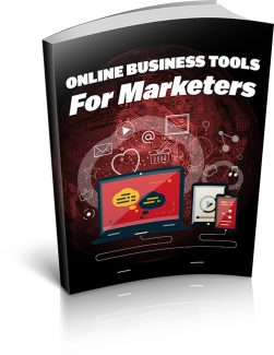 Online Business Tools For Marketers MRR Ebook