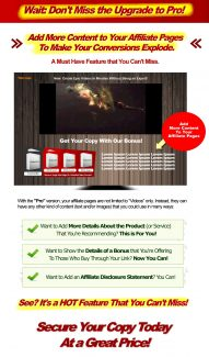 Rapid Affiliate Pro Personal Use Software