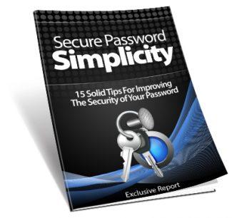 Secure Password Simplicity MRR Ebook