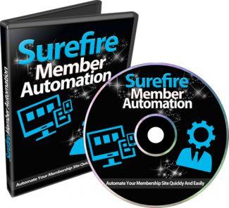 Surefire Member Automation PLR Video With Audio
