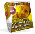 Web Elements Deluxe Web Design Graphics Collection MRR ...