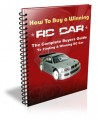 How To Buy A Winning RC Car Plr Ebook