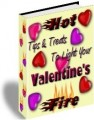 Hot Tips  Treats To Light Your Valentines Fire PLR Ebook