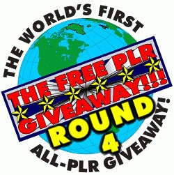 The Free Plr Giveaway Round 4 PLR Ebook