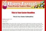 Easter Template 2 PLR Template