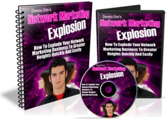 Network Marketing Explosion Mrr Ebook With Audio