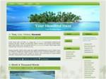 Palm Tree Island Wordpress Theme Personal Use Template