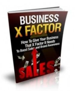 Business X Factor Mrr Ebook