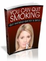 You Can Quit Smoking Mrr Ebook