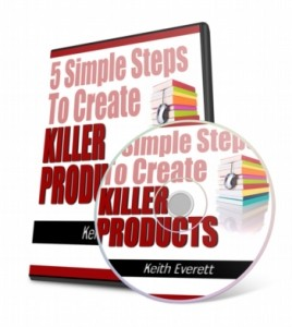 5 Simple Steps To Create Killer Products Mrr Ebook With Video