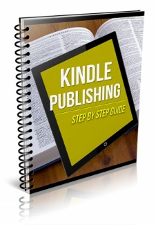 Kindle Publishing Step By Step Guide PLR Ebook