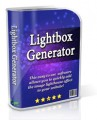 Lightbox Generator Resale Rights Software With Video
