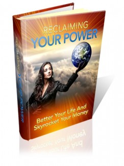 Reclaiming Your Power MRR Ebook