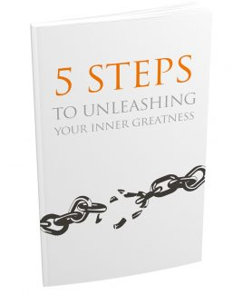 5 Steps To Unleashing Your Inner Greatness MRR Ebook With Audio