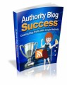 Authority Blog Success MRR Ebook