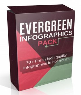 Evergreen Infographics Pack Resale Rights Graphic
