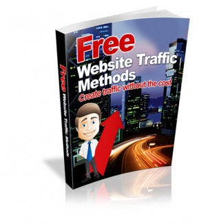 Free Website Traffic Methods MRR Ebook