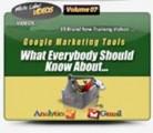 Google Marketing Tools Video Tutorials MRR Video