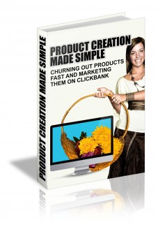 Product Creation Made Simple MRR Ebook