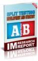 Split Testing Development And Strategy MRR Ebook