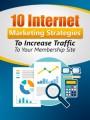 Strategies To Increase Your Membership Traffic PLR Ebook