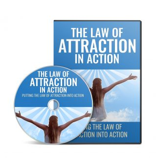 The Law Of Attraction In Action – Video Upgrade MRR Video With Audio
