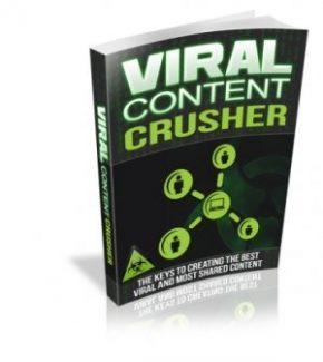 Viral Content Crusher MRR Ebook