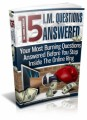 15 Im Questions Answered MRR Ebook With Video