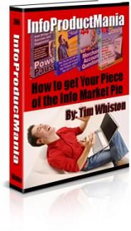 Info Product Mania MRR Ebook