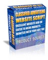 Classified Ad Website Script MRR Script