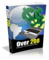 Over 200 Instant Commission Sites Give Away Rights Ebook