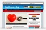Blood Pressure Niche Blog Personal Use Template