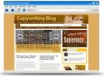 Copywriting Blog Theme Personal Use Template