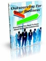 Outsourcing For Your Business Mrr Ebook
