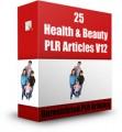 25 Health  Beauty Plr Articles V12 PLR Article