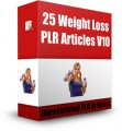 25 Weight Loss Plr Articles V10 PLR Article