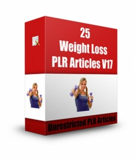 25 Weight Loss  V17 PLR Article